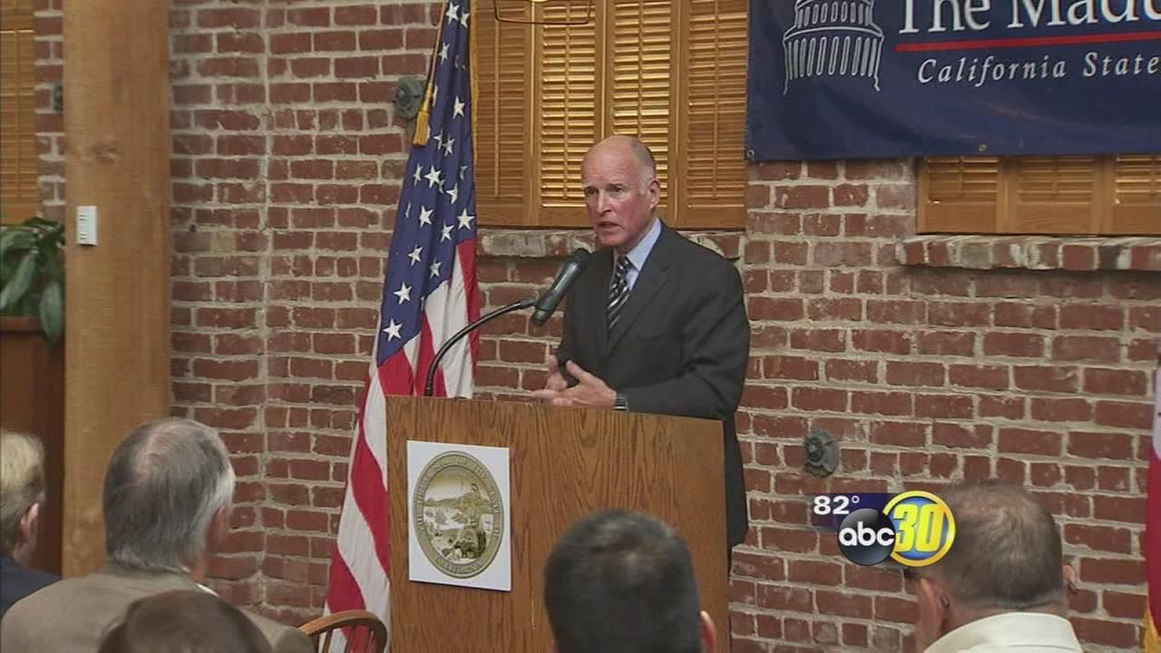 Fresno County Sheriff responds after Jerry Brown chastises her in voicemail
