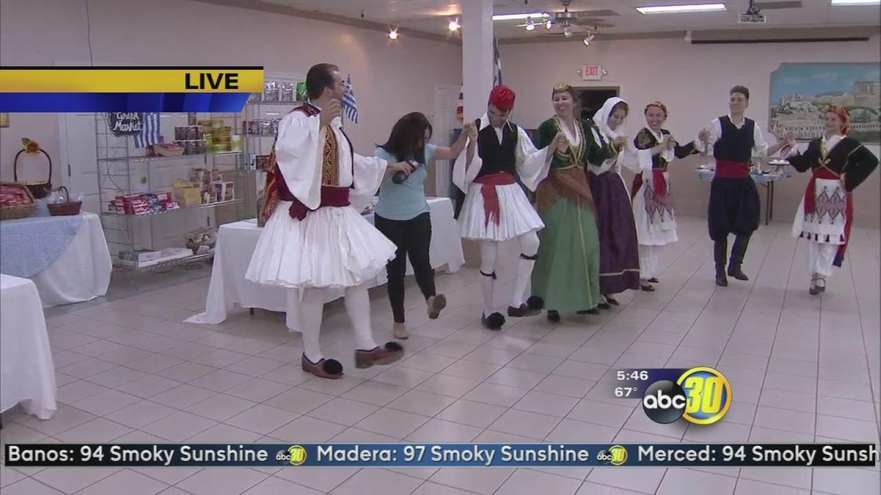 Opa! Greek Fest takes over Central Fresno this weekend