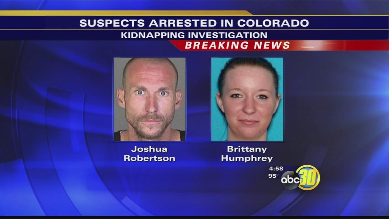 Suspects in SoCal murder, kidnapping, found in Colorado