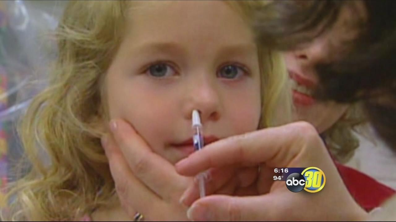 Major Valley medical center wont be offering Flu Mist Nasal Spray vaccine this flu season