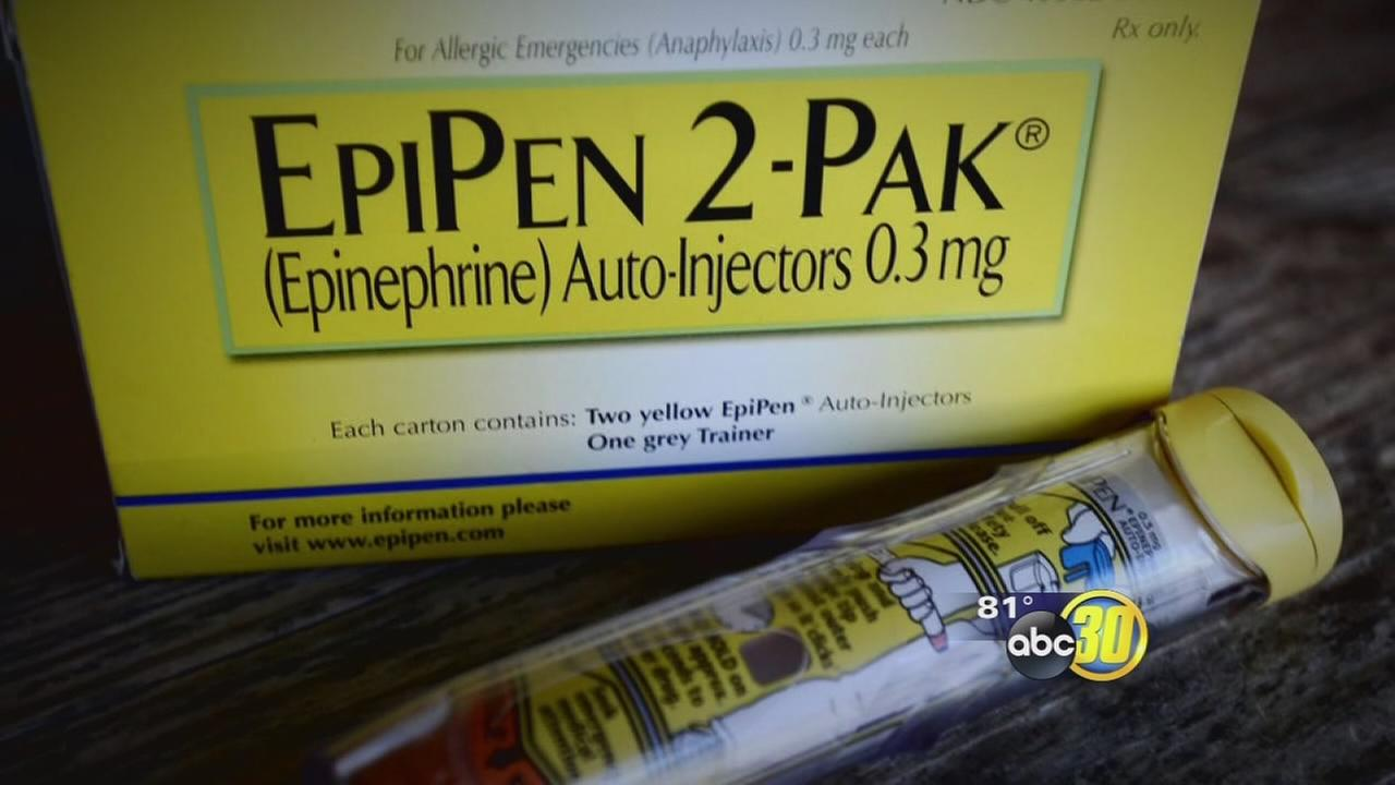 Company behind EpiPen pledges to make drug more affordable after backlash