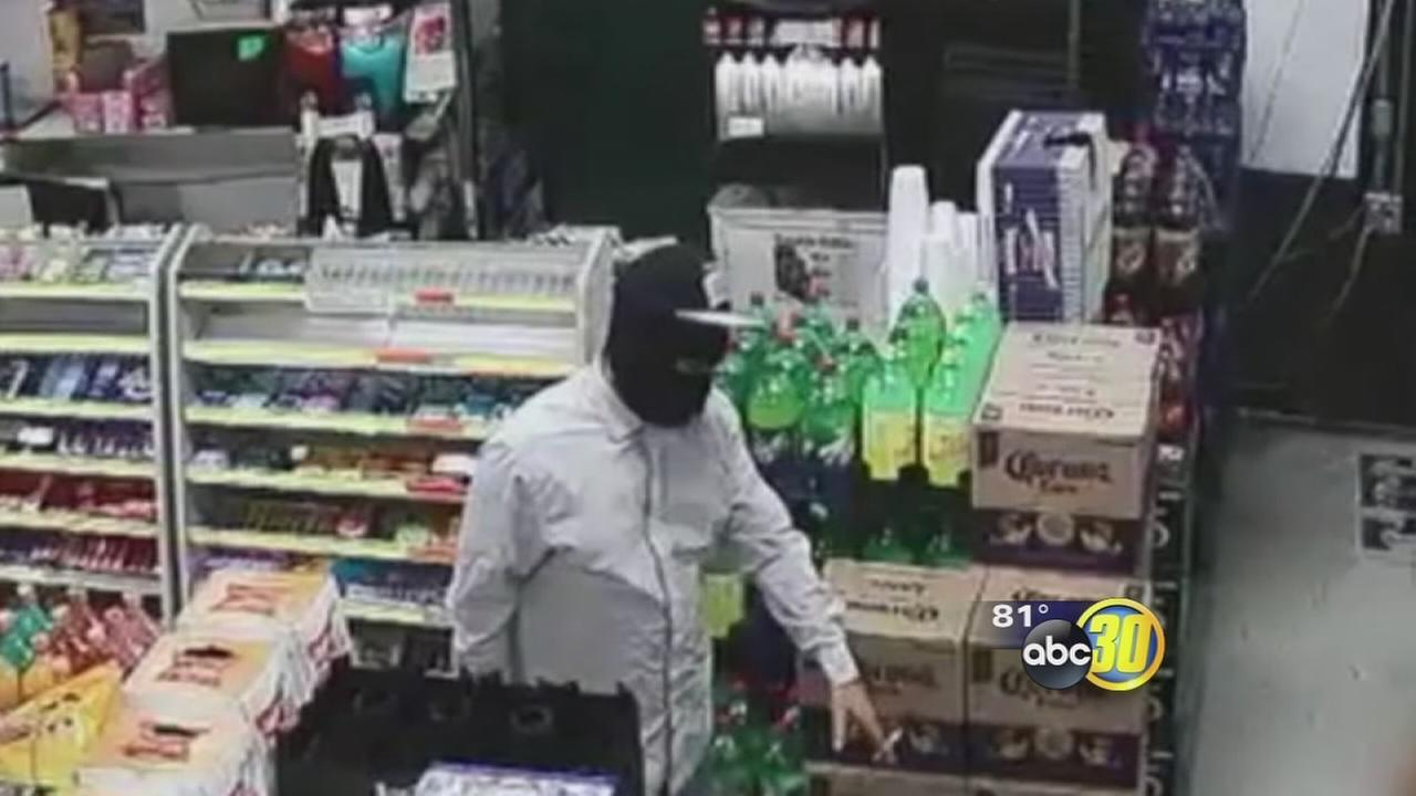 Fresno Police asking for help identifying suspects in a string of robberies