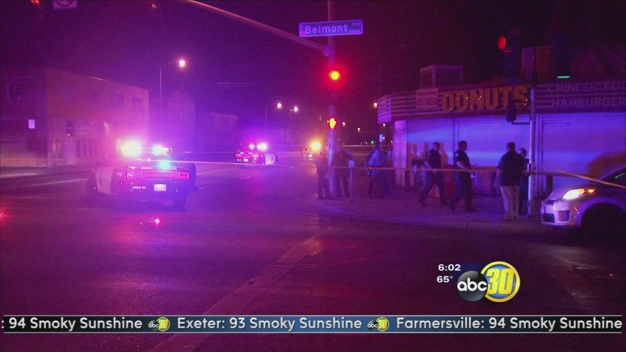 Man shot an killed in Central Fresno
