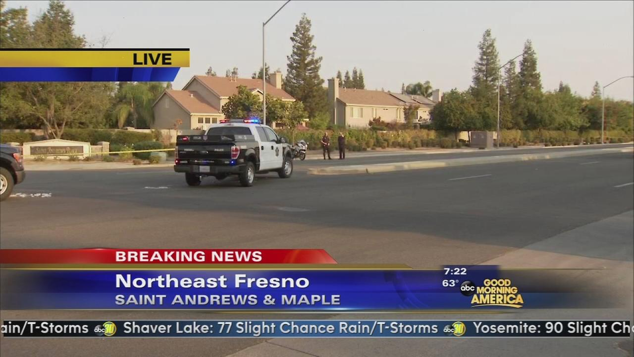 Pedestrian killed in Northeast Fresno