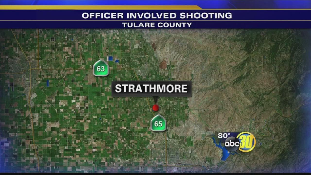 Authorities investigating officer-involved shooting in Strathmore