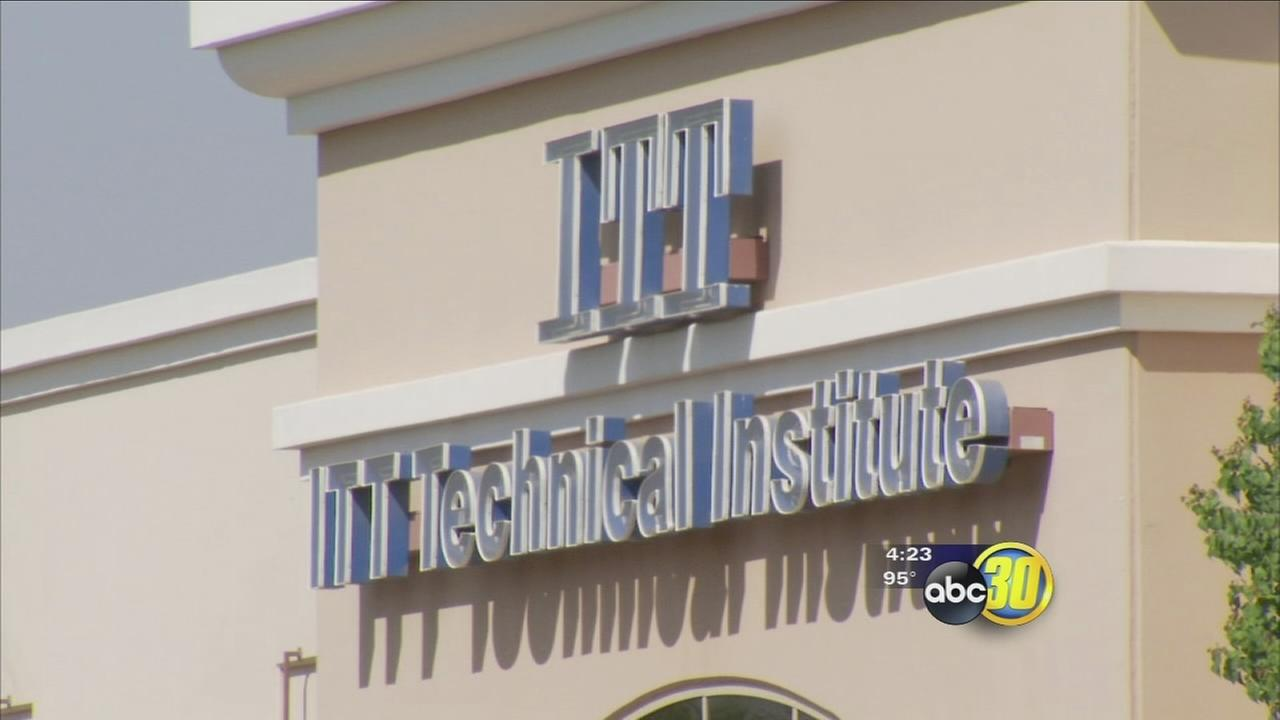 ITT Technical Institute to stop enrolling students who use federal aid