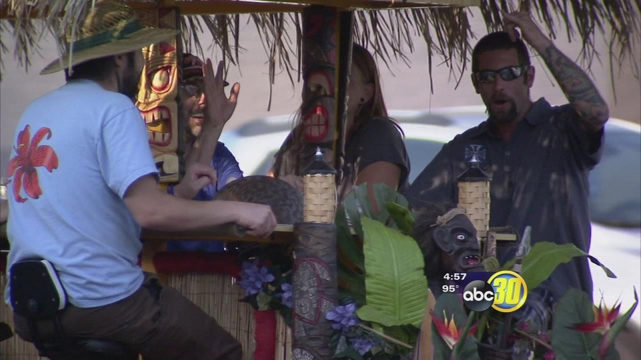 A new way to travel around Fresno lets passengers enjoy a drink on the go