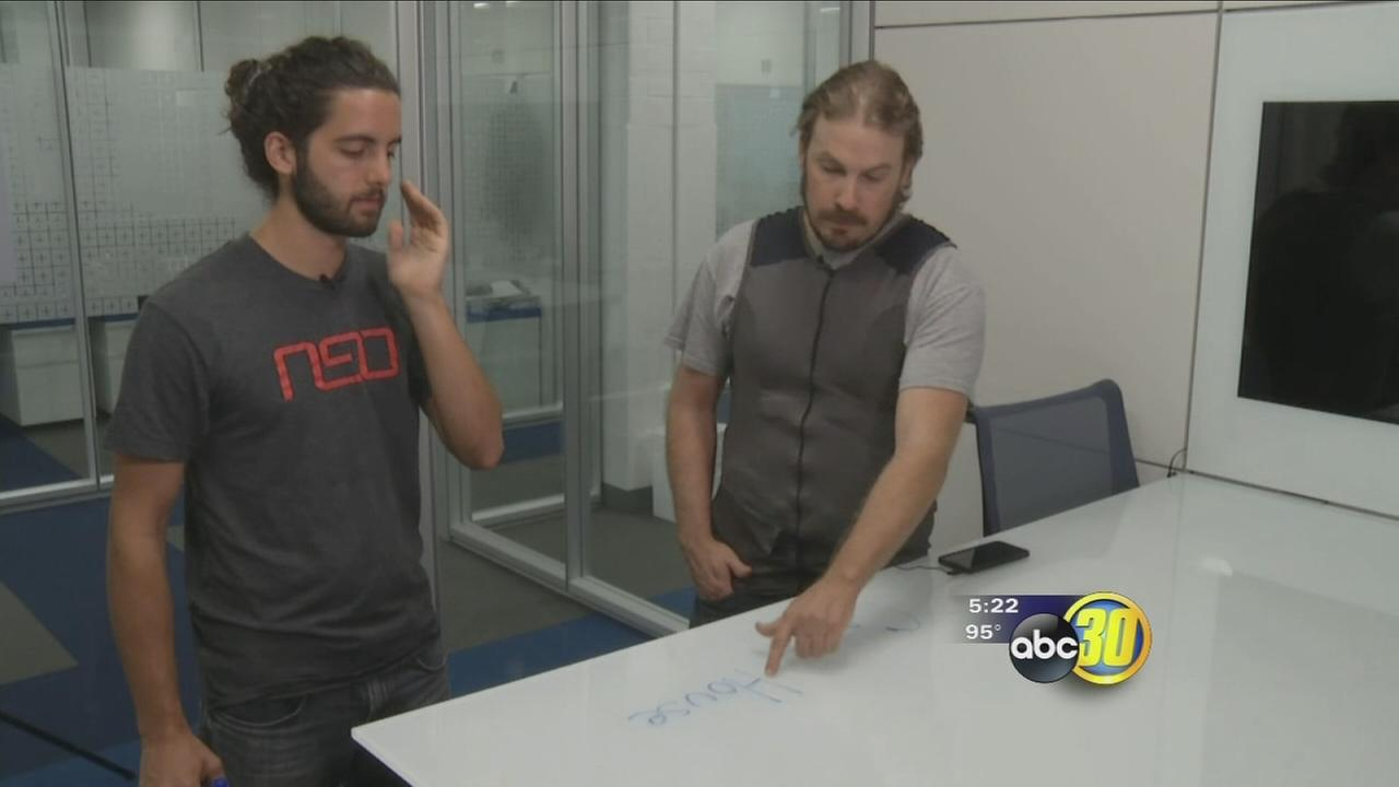 Hearing Vest: Using the sense of touch to replace hearing