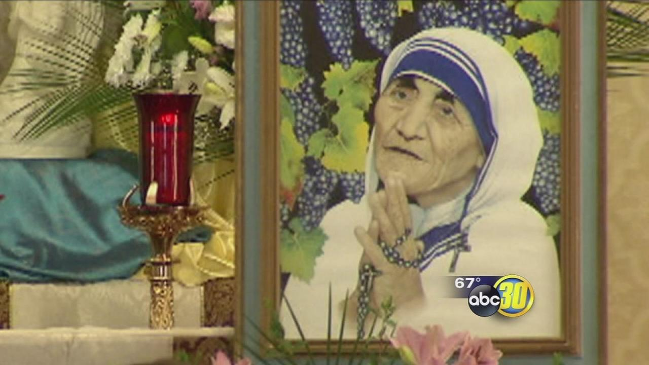 Valley Catholics celebrate sainthood of Mother Teresa