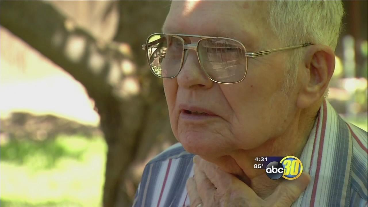91-year-old WWII veteran refuses to help hide Visalia suspect who barges into home