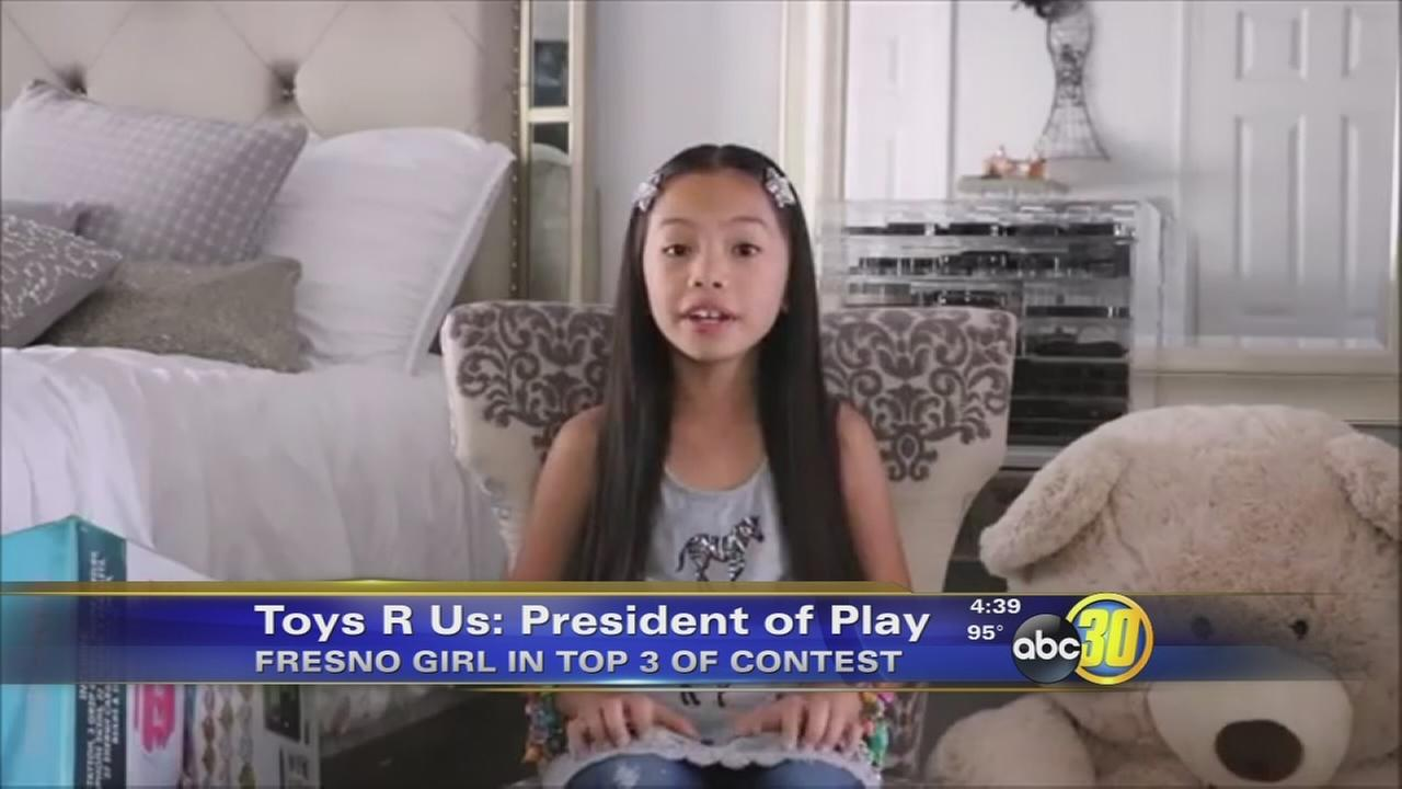 Fresno 9-year-old in the running to be President of Play for Toys R Us