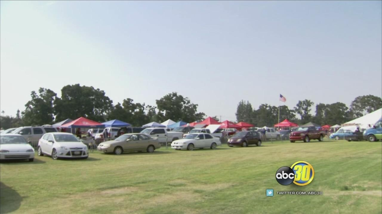 Fans flock to Fresno State football home opener