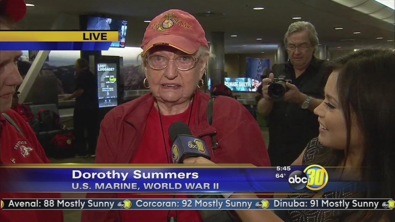 11th Central Valley Honor Flight gets ready to take off