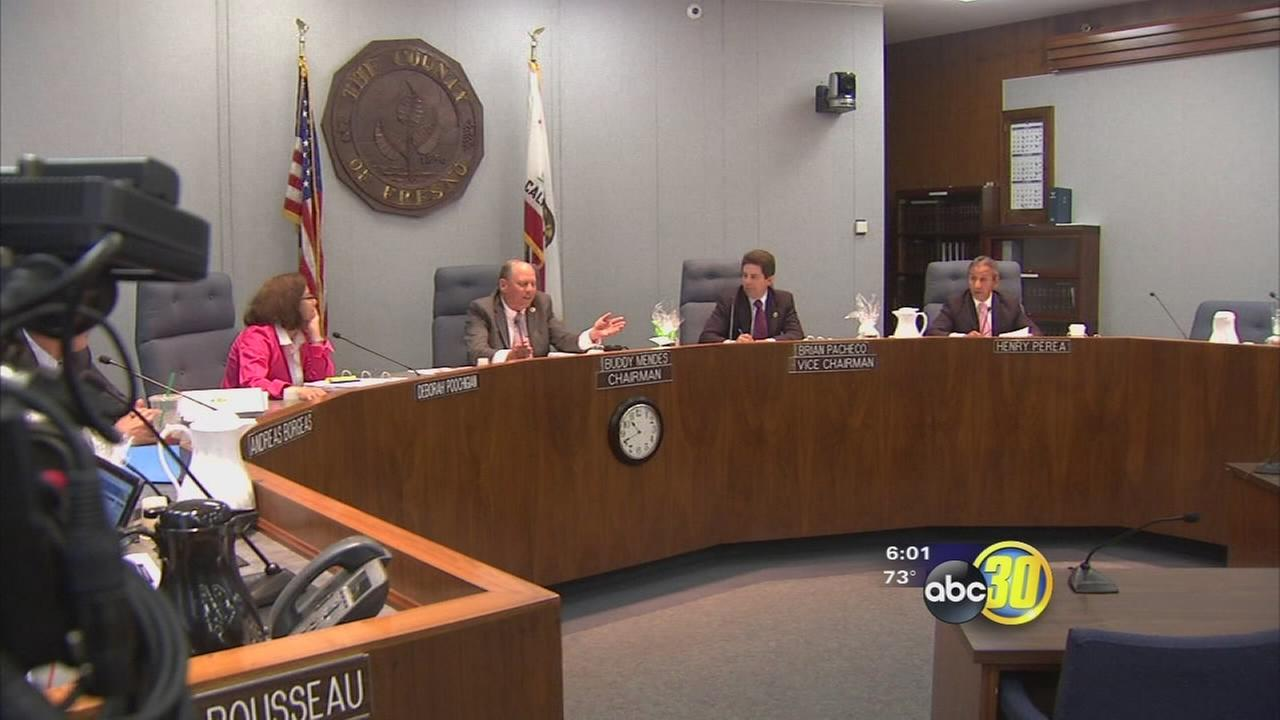 Tension boils over at Fresno County Board of Supervisors meeting about Northeast Fresno water