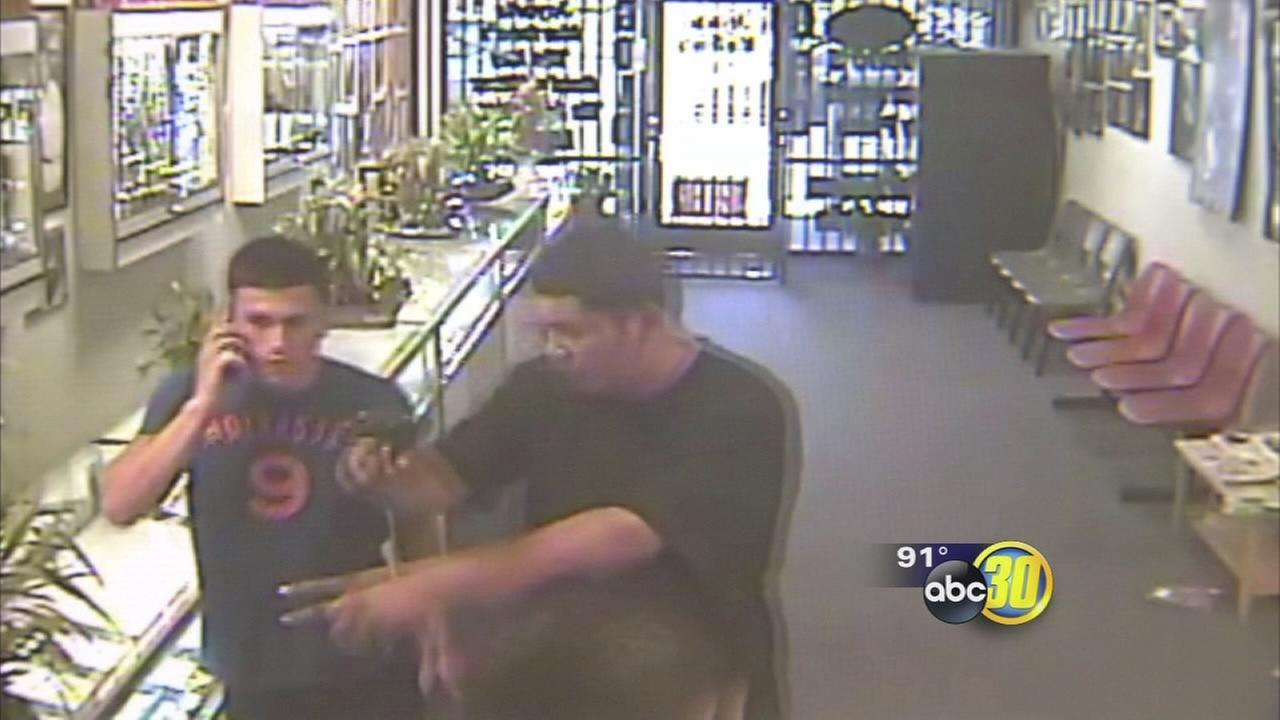 1 arrested 1 sought in foiled fresno jewelry store