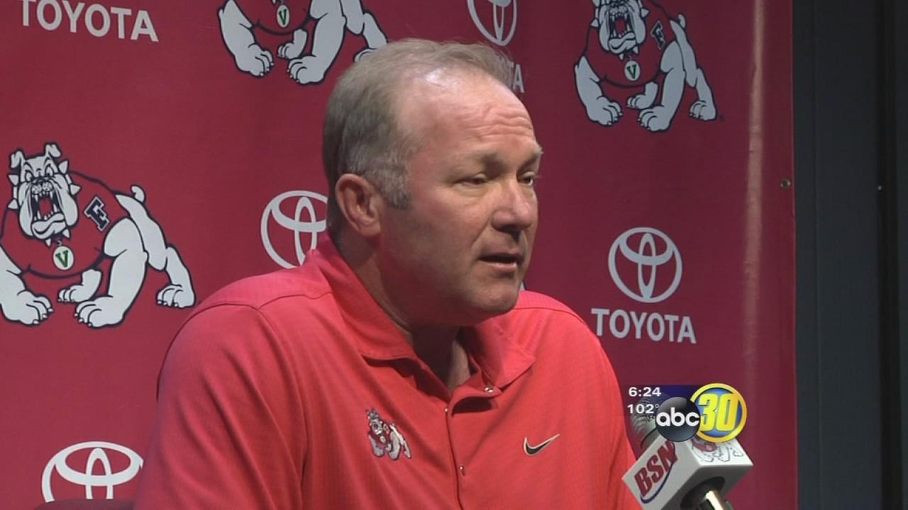 Fresno States head coach getting ready for next game with sense of urgency