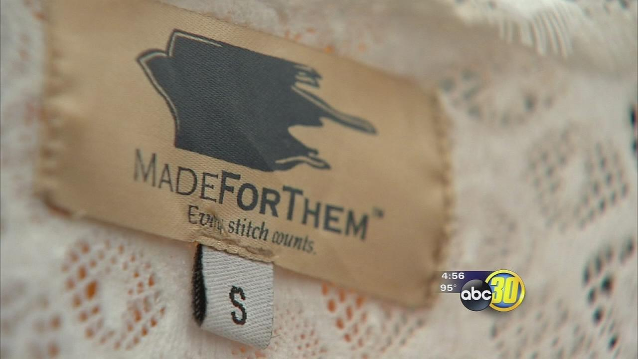 Clothing line helping fight human trafficking