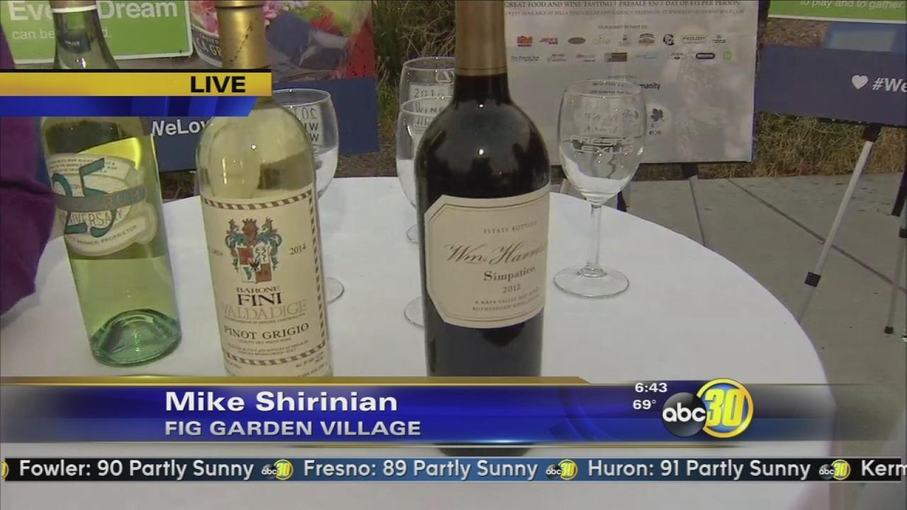 Fig Garden Wine Walk benefits Habitat for Humanity