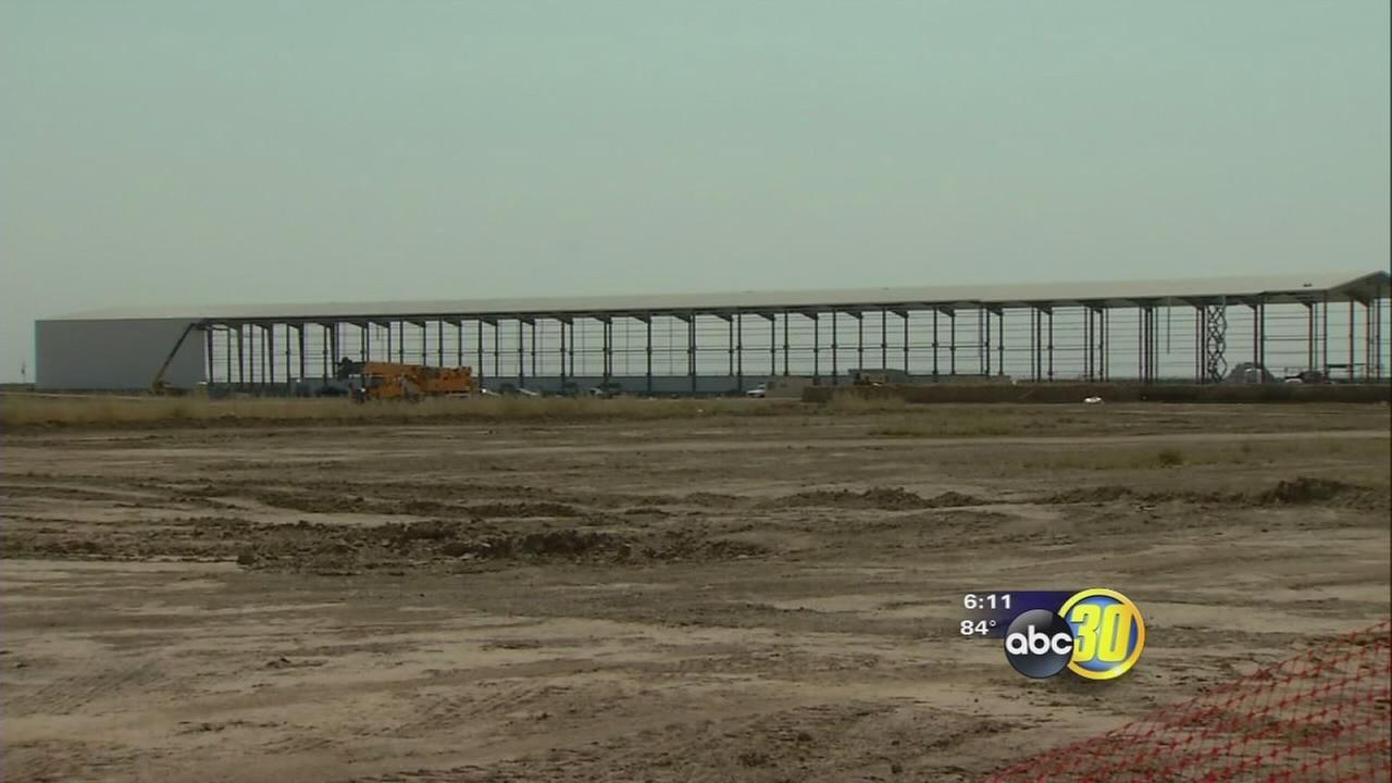 Large-scale, cage-free egg production facility underway in South Valley