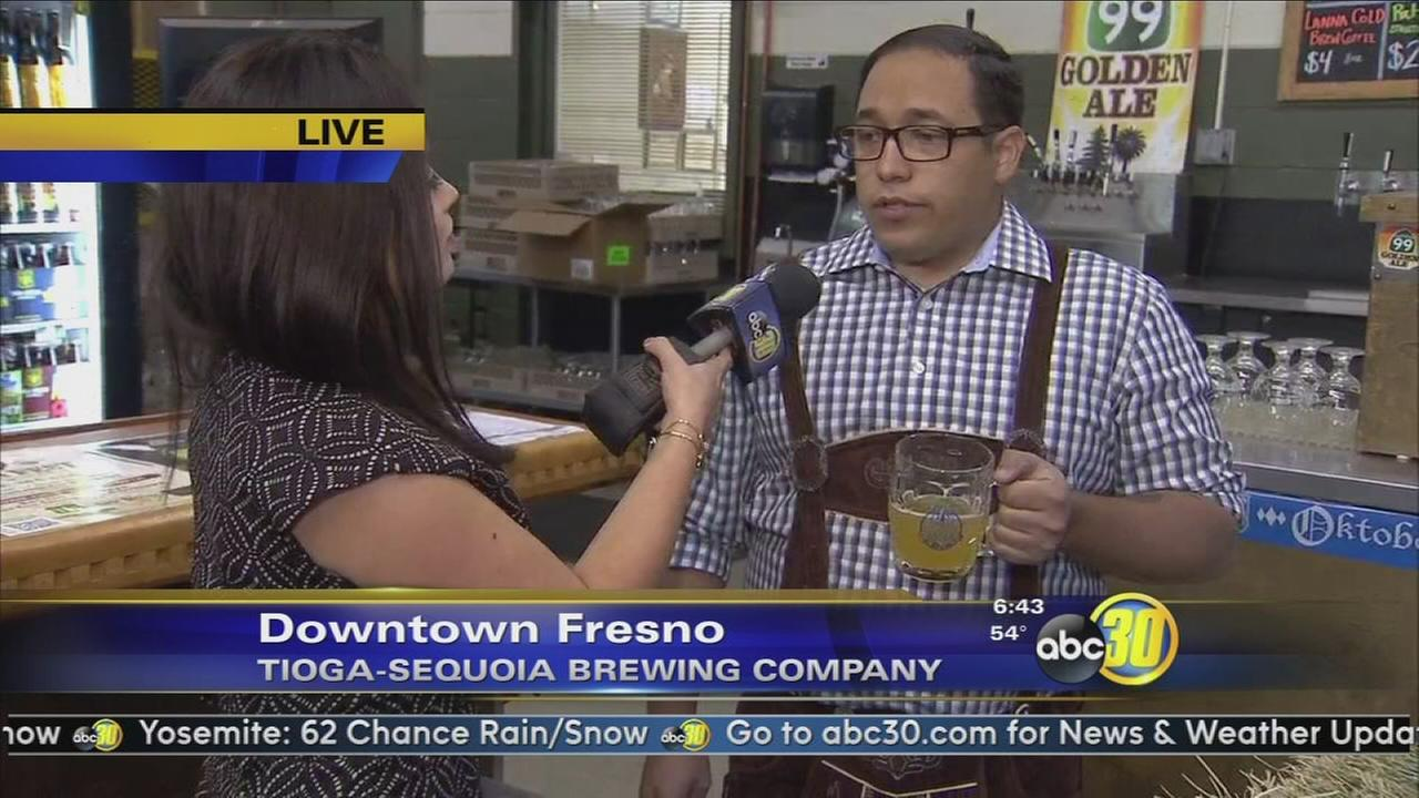 Tioga Sequoia brewery hosts Oktoberfest in Downtown Fresno