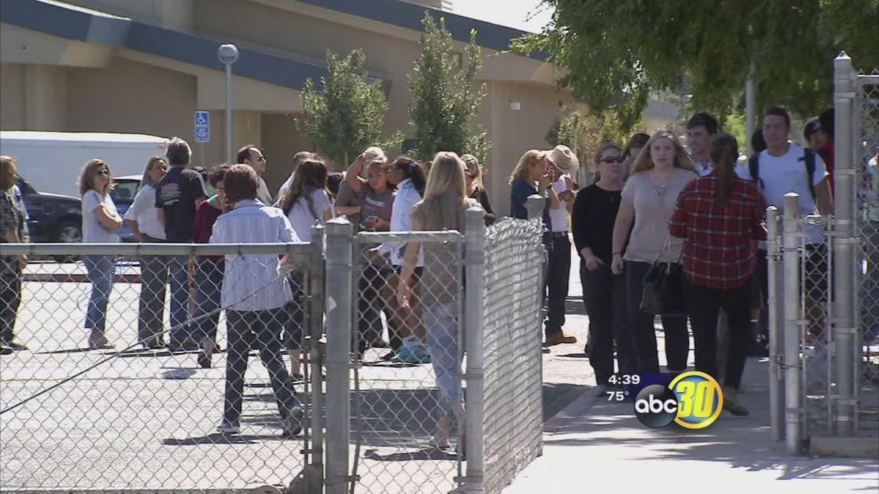Bomb threat at Bullard High forces students out of class