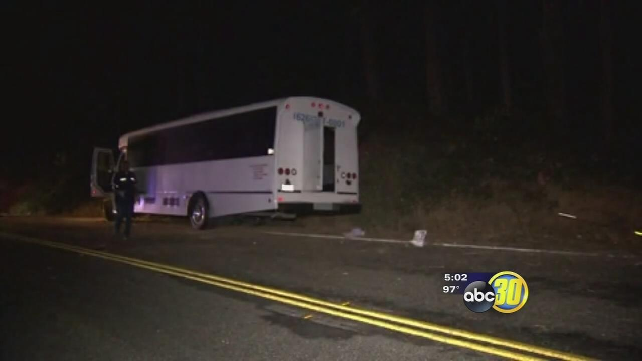 Driver in deadly bus crash near Oakhurst was inexperienced, authorities say