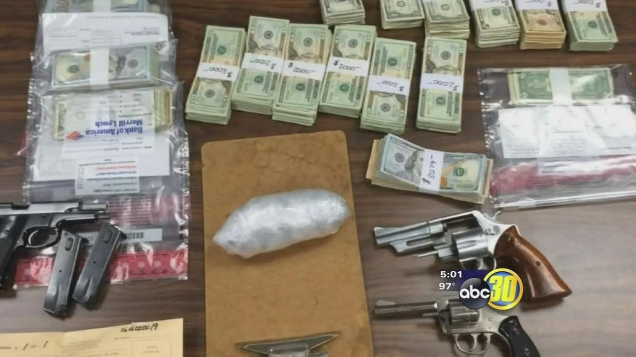 Kings County task forces take down large heroin ring in Hanford