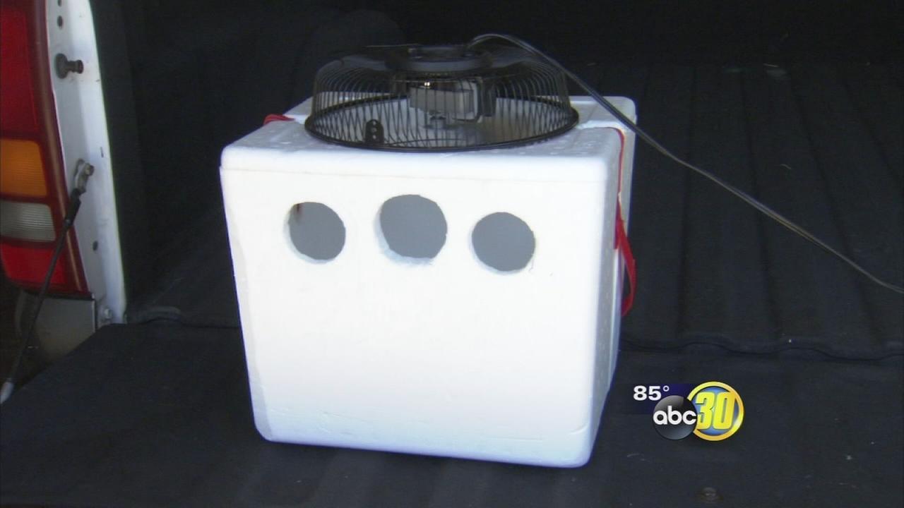 Homemade Air Conditioner Units Go Viral Abc30 Com