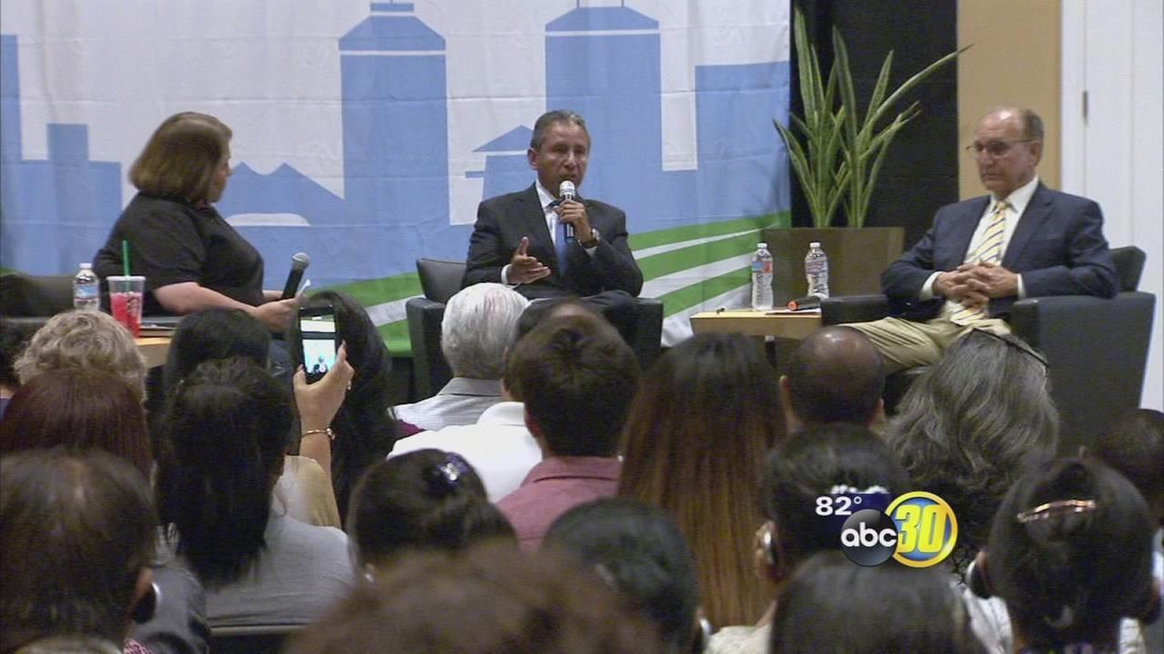Mayoral candidates forum held to see where they stand on Fresnos parks