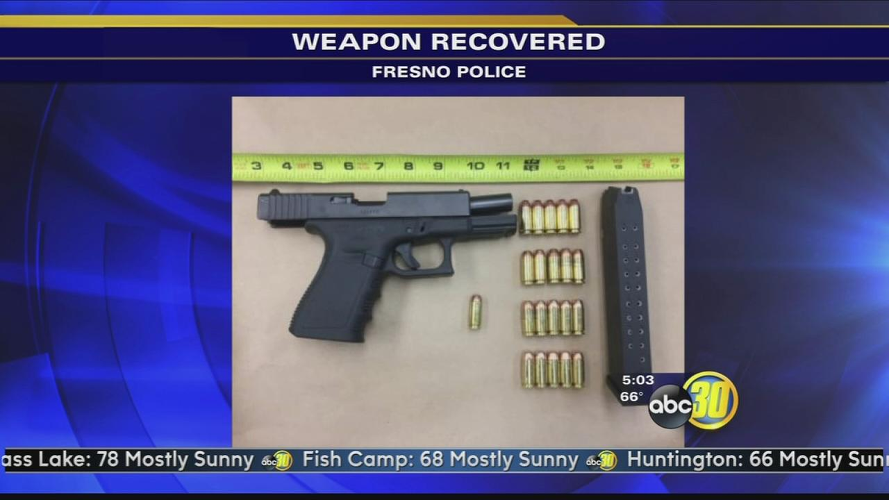 Stolen gun recovered from gang member, police say