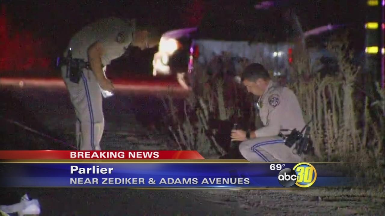 Man hospitalized after hit-and-run in Parlier