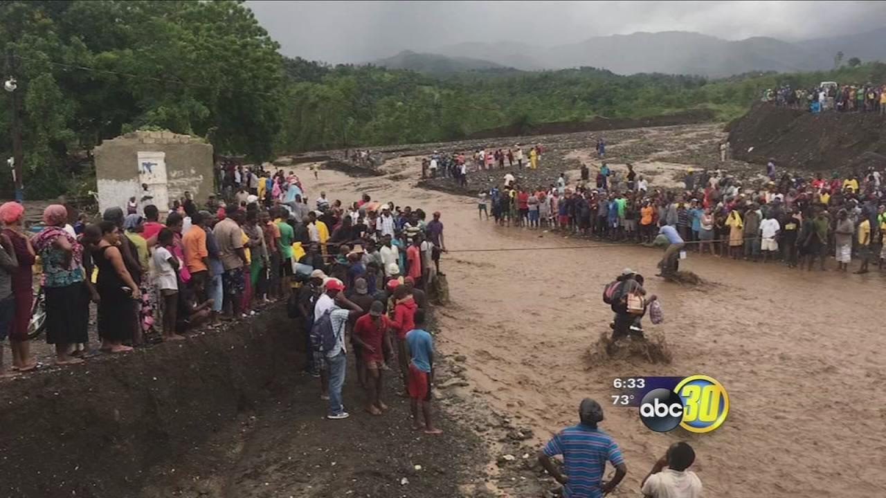 As hurricane Matthew hits Haiti Valley residents with loved ones there doing what they can to help