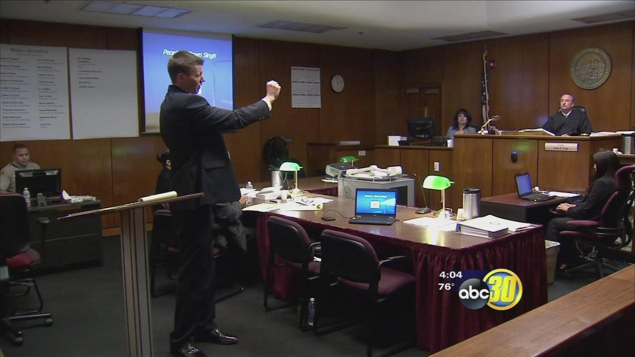 Jurors hear final remarks in trial of woman accused of robbery and murder of Kerman couple