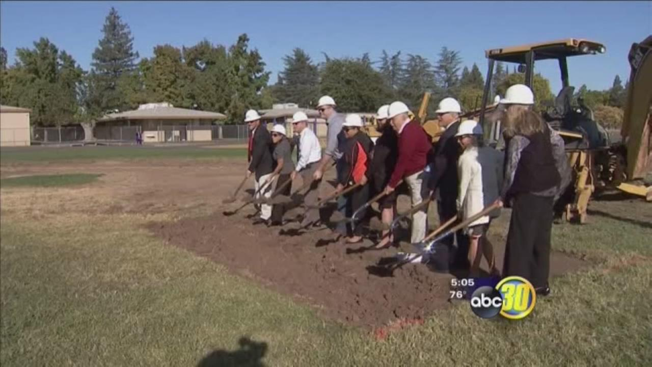 Merced City School District broke ground on new STEAM Center