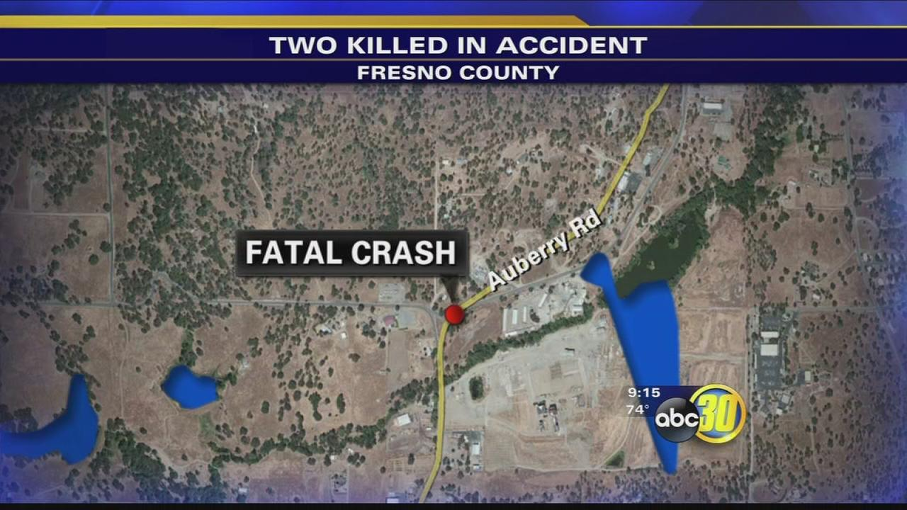Couple dies after motorcycle crash in Auberry