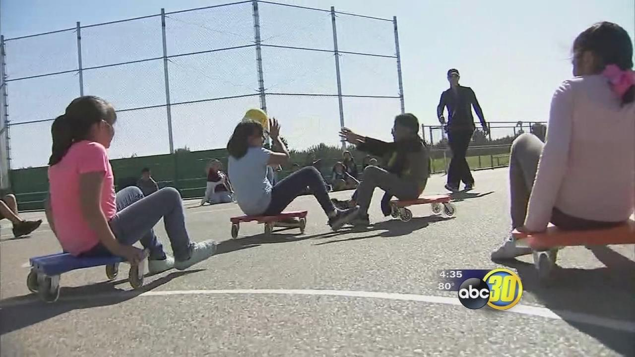 Madera Unified School District receiving money to go toward improving their PE programs