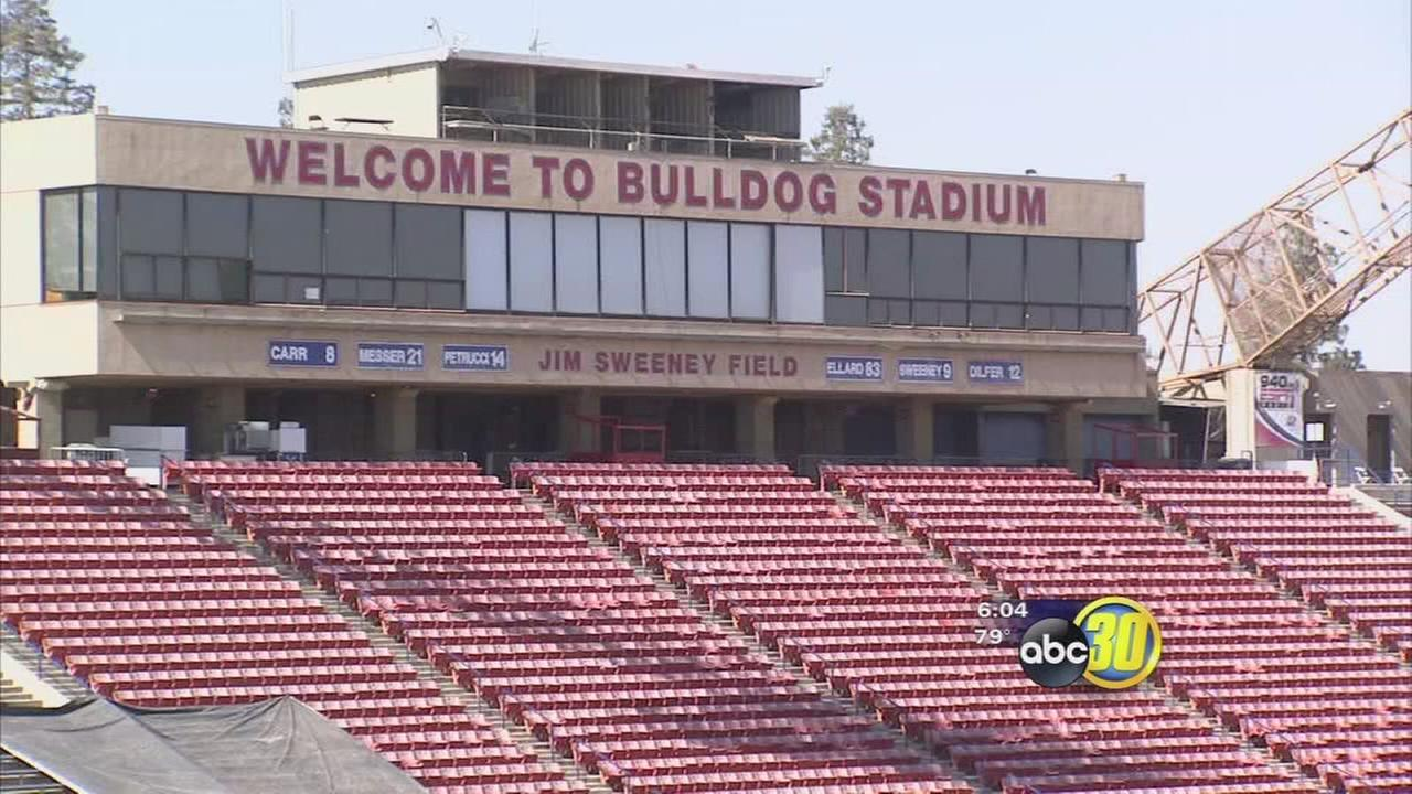 Fresno State moving forward with plans to renovate Bulldog Stadium