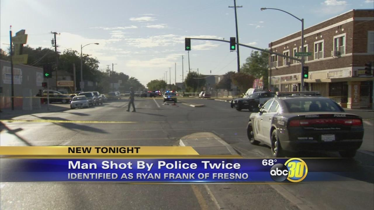 Man identified who was shot by police in Central Fresno