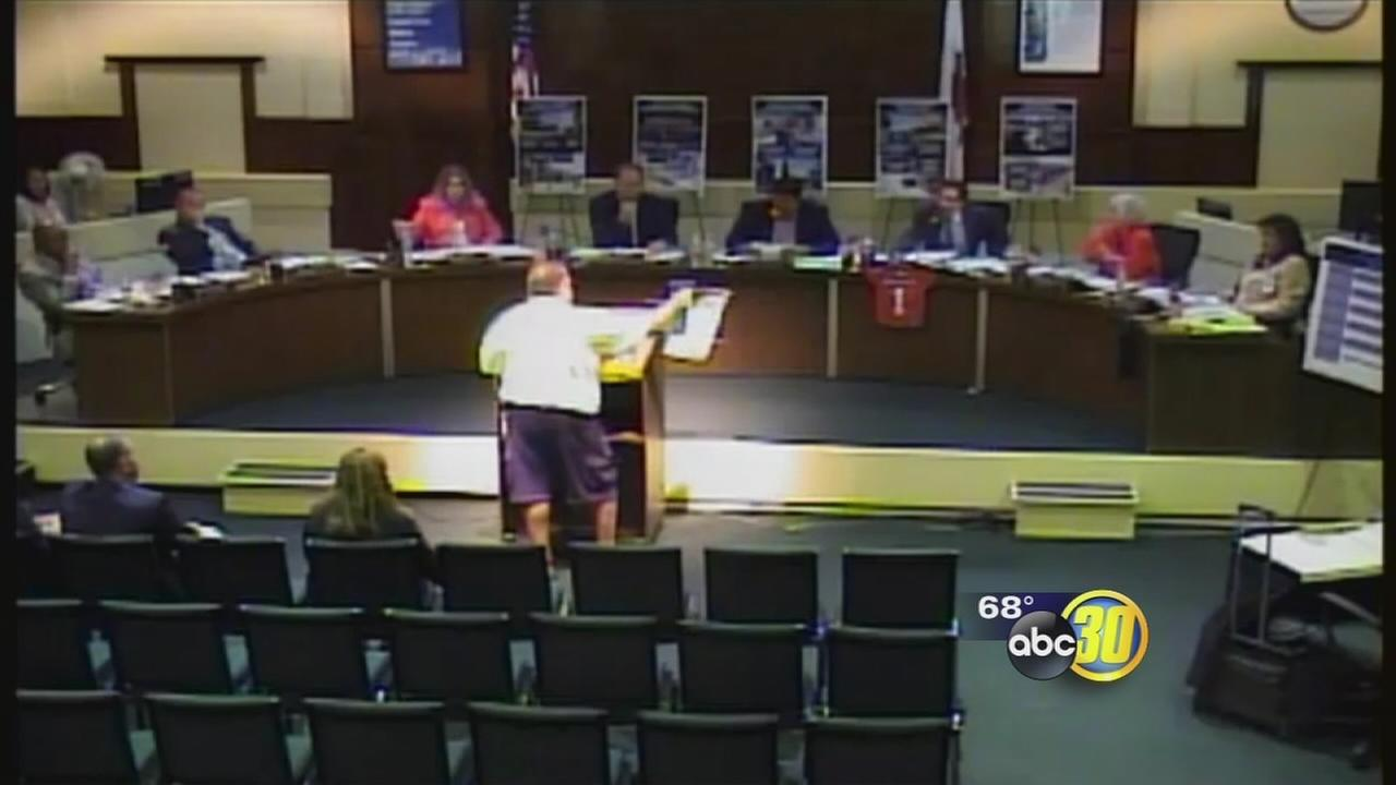 Parent tells FUSD trustee to shut up while addressing board during meeting about bond measure