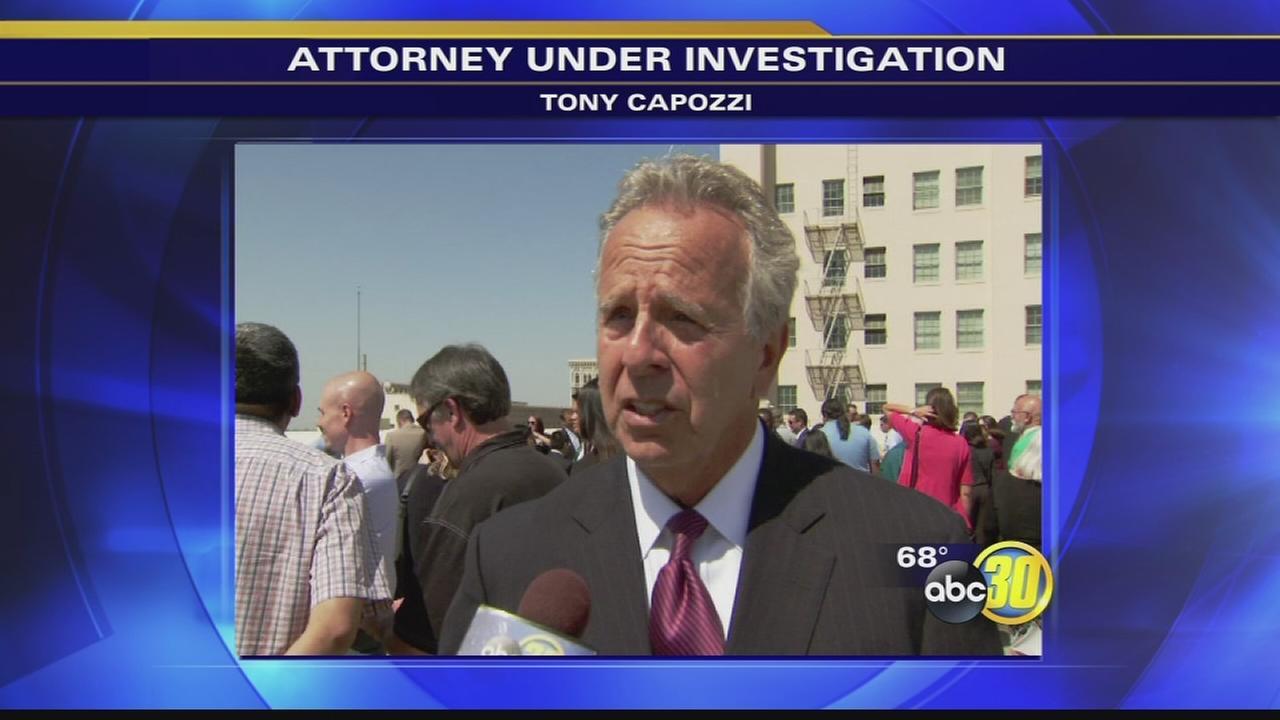 Fresno Attorney Tony Capozzi Facing Sheriffs Investigation
