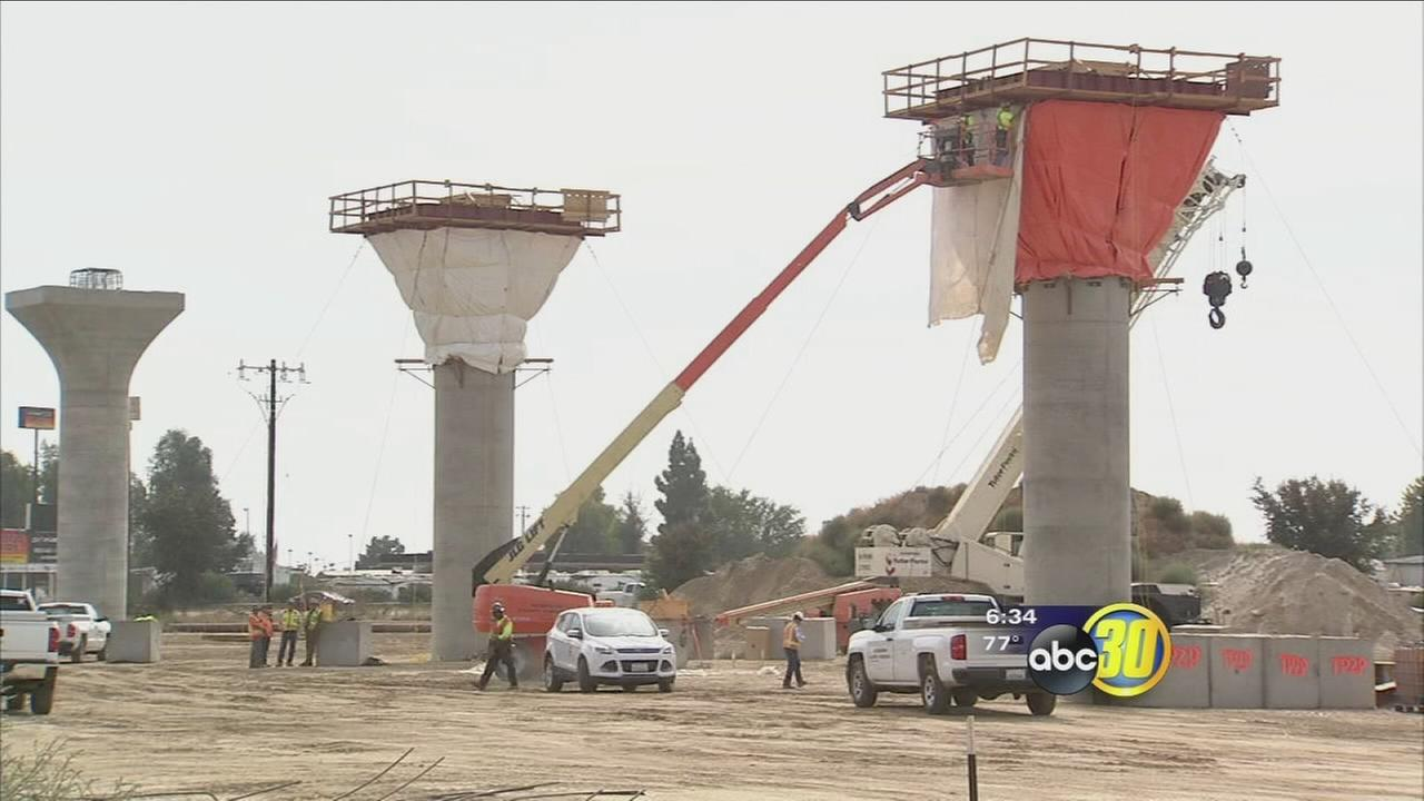 Fresno vying for maintenance facility for High-Speed Rail