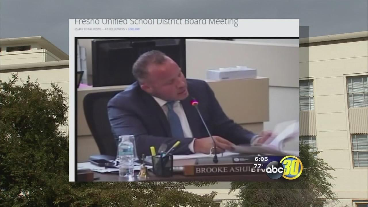 Fresno Unified trustee responds to conflict of interest accusation