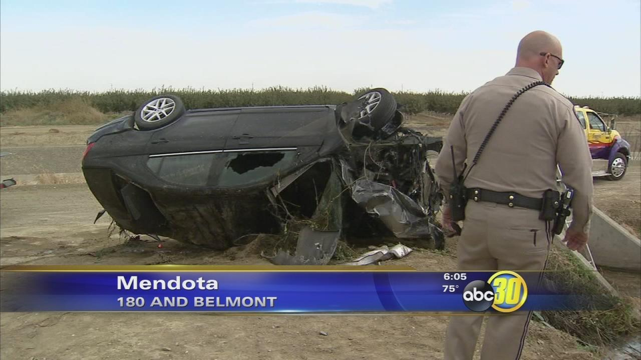 Woman dead after crashing into Mendota canal – Ventura Broadcasting