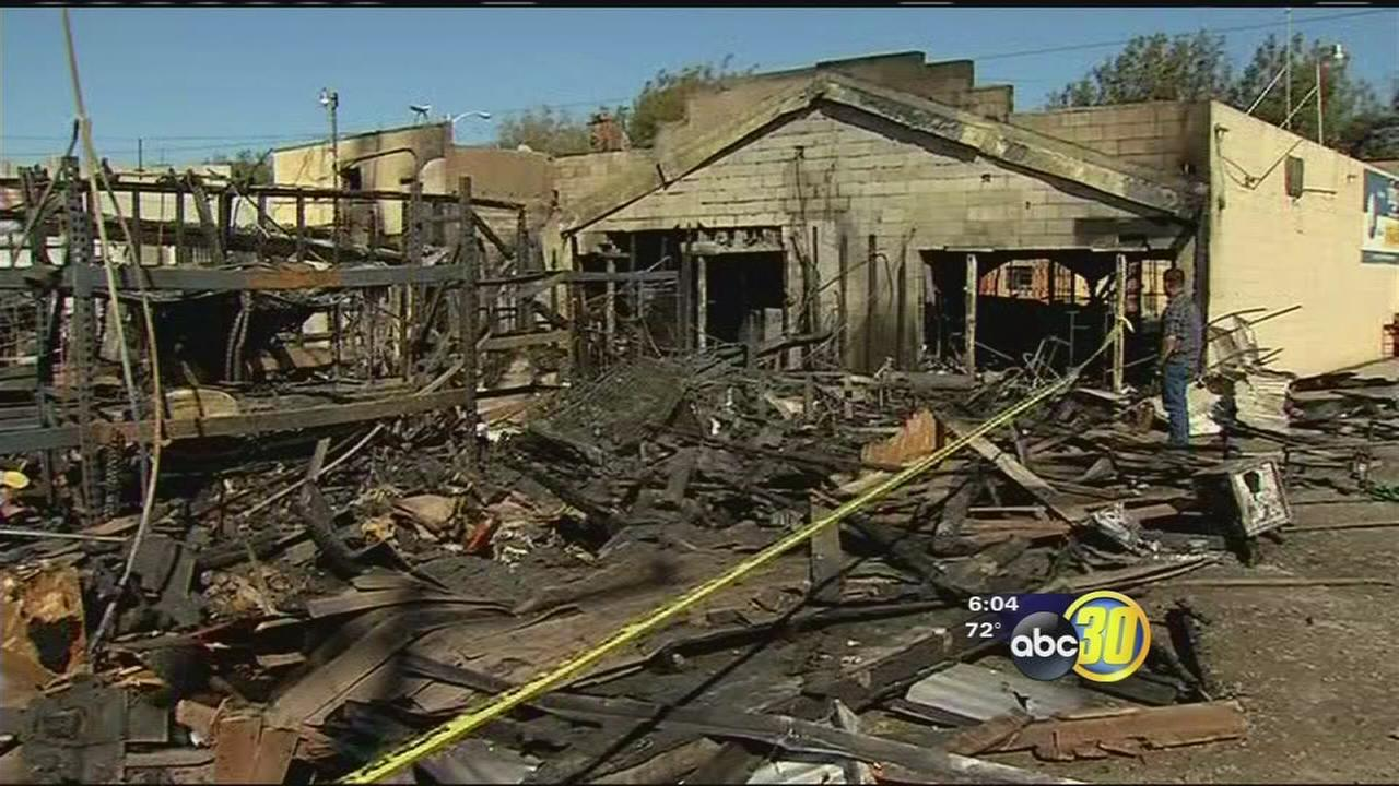 Family-owned business in Huron hit hard by fire