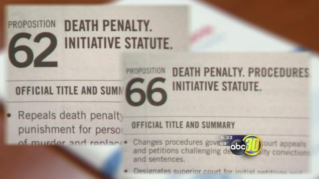 Ballot measures voters will decide will make changes to Californias death penalty