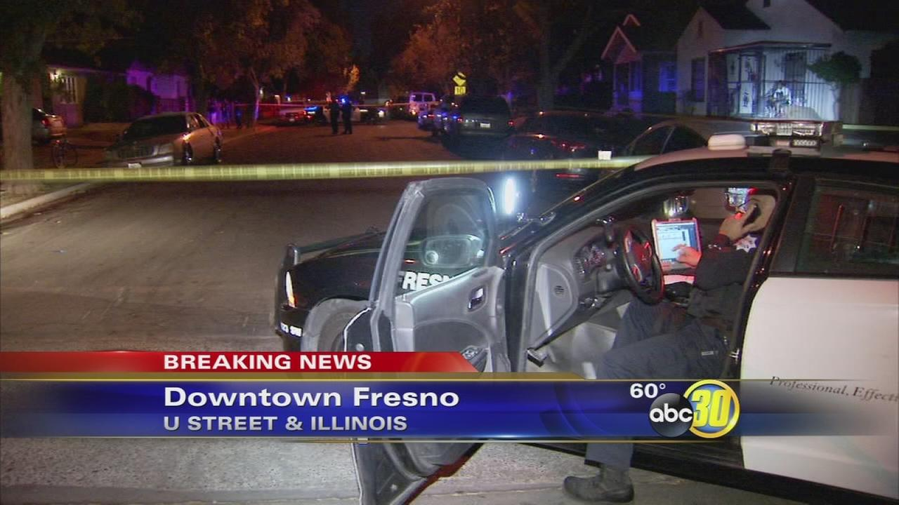 Fresno PD investigating drive-by shooting that injured one man in Downtown Fresno