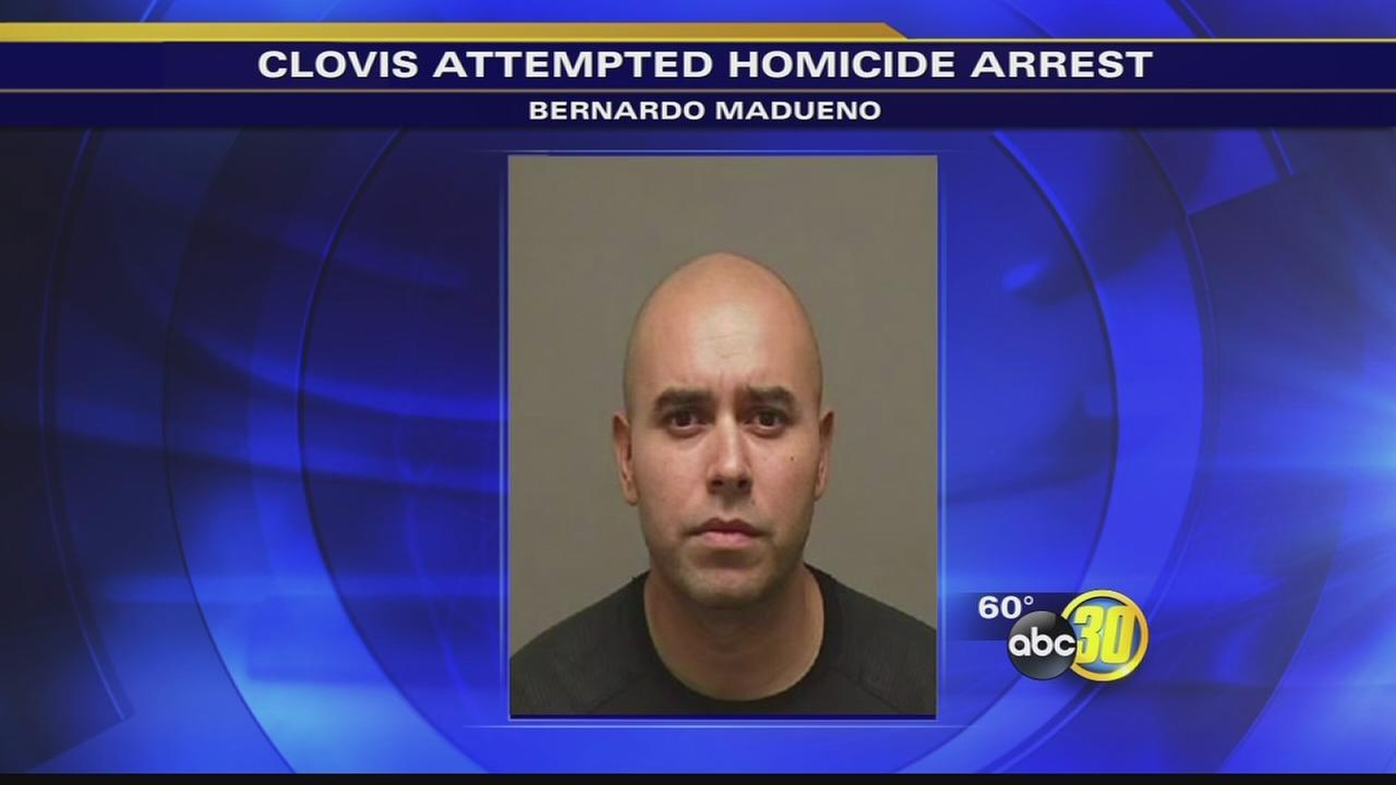 Man found and arrested in Mexico for attempted murder in Clovis