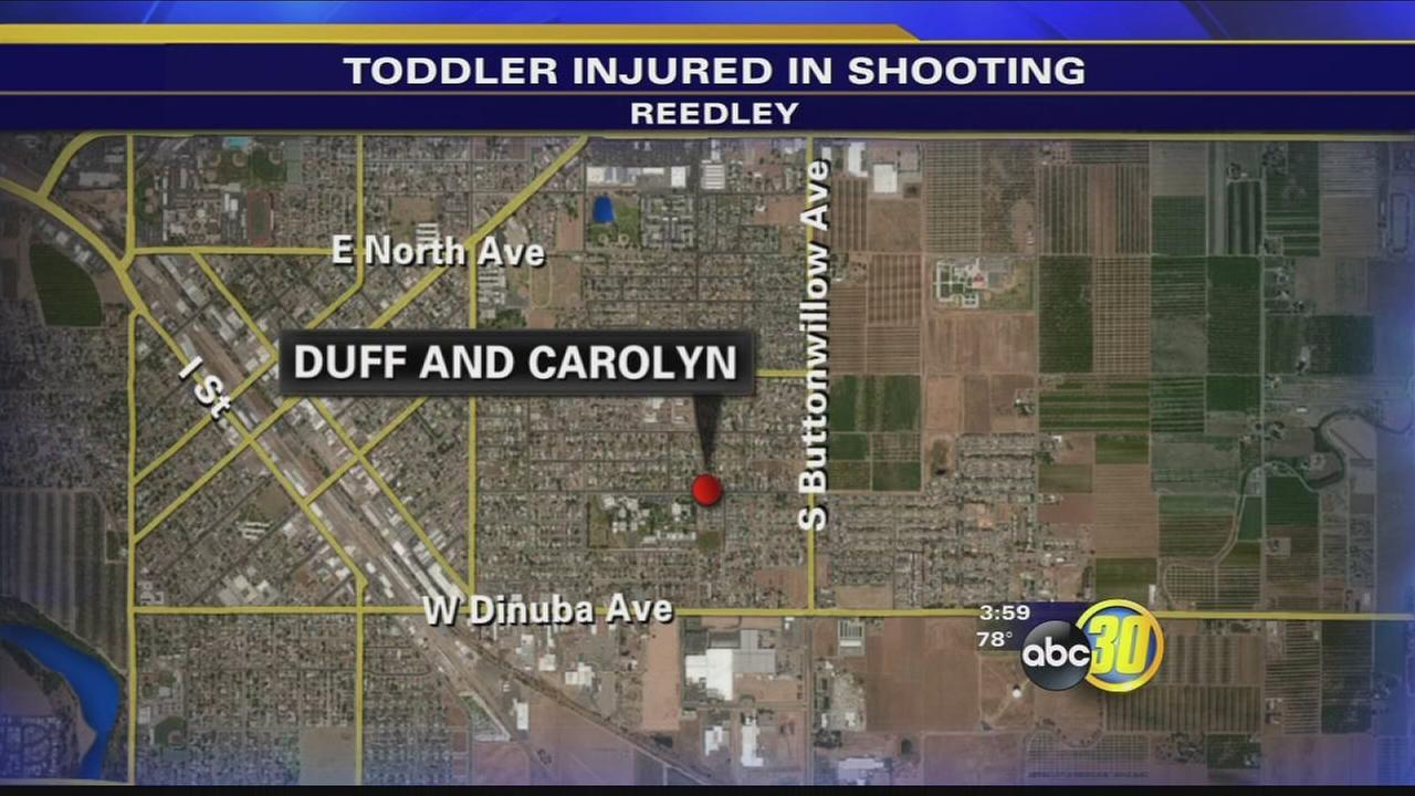 2 year old boy injured in shooting in Reedley