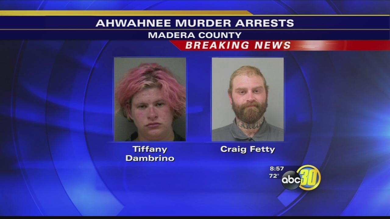 Two arrested in connection to Ahwahnee homicide investigation