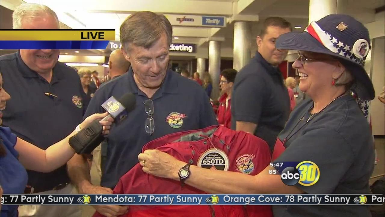 12th Honor Flight prepares for takeoff